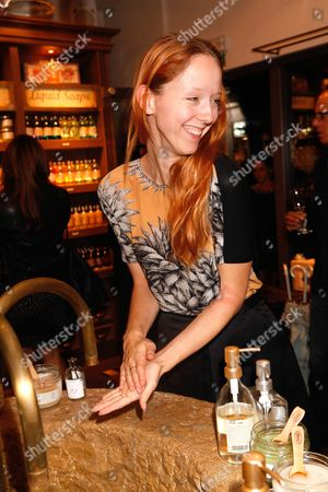 Editorial image of Beauty brand Sabon launch at Neal Street, London, Britain - 30 Oct 2014