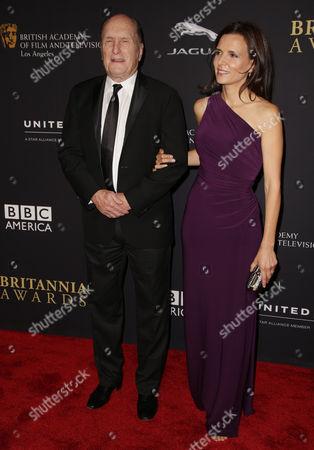 Robert Duvall and wife Luciana Pedraza