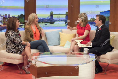 Jo Hemmings and Josie Gibson with Charlotte Hawkins and Ben Shephard