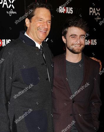 Peter Guber ; Daniel Radcliffe