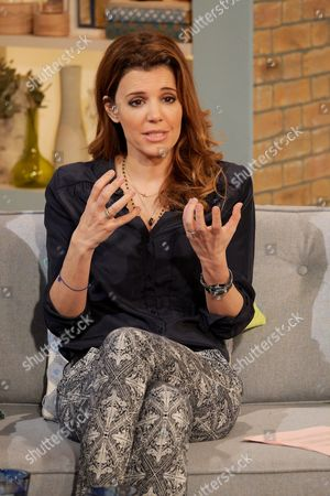 Editorial image of 'This Morning' TV Programme, London, Britain - 31 Oct 2014