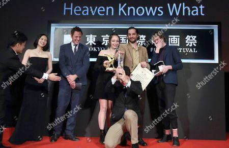 Miki Nakatani, James Gunn, Arielle Holmes, Joshua Safdie, Ben Safdie, Caleb Landry Jones