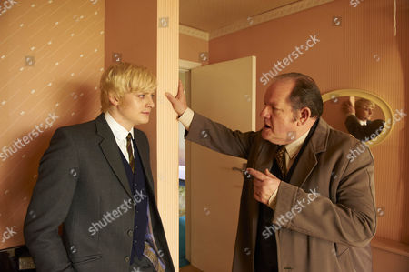 Aneurin Barnard as Bobby and John Henshaw as John White.