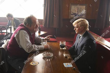 John Henshaw as John White and Aneurin Barnard as Bobby.