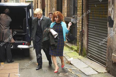 Stock Photo of Sheridan Smith as Cilla Black and  Aneurin Barnard as Bobby Willis