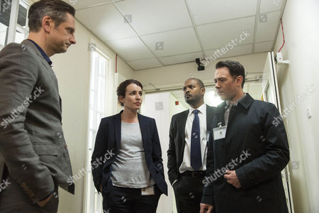 Nicholas Gleaves as Alex Wernley, Susan Lynch as Dr Ellesmere, Noel Clarke as DCI Carl Prior and Reece Shearsmith as DS Sean Stone