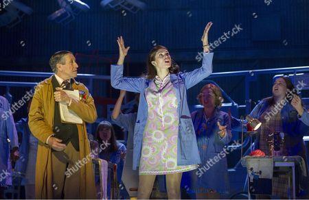 David Cardy as Monty, Gemma Arterton as Rita