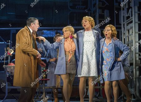 David Cardy as Monty, Sophie Isaacs as Sandra, Sophie Stanton as Beryl, Heather Cranley as Clare