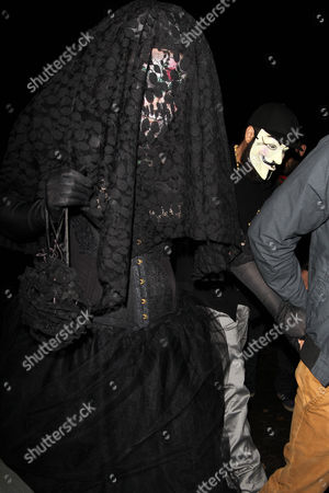 Editorial picture of Jonathan Ross's Halloween Party, London, Britain - 31 Oct 2014