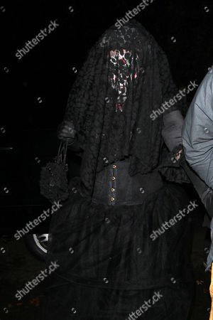 Editorial image of Jonathan Ross's Halloween Party, London, Britain - 31 Oct 2014
