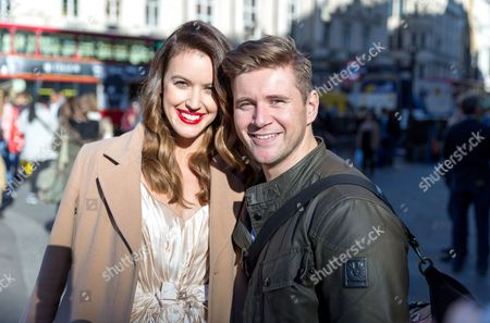 Stock Picture of Charlie Webster and Allan Leech