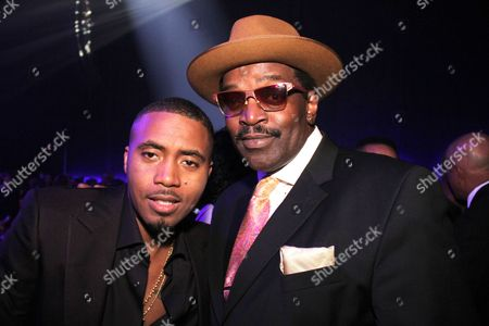 Nas and Fab Five Freddy