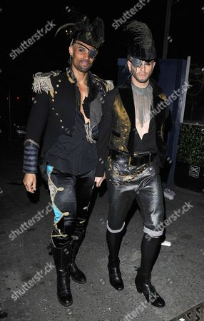 Stock Picture of Daniel Porter Brown and Brian Friedman