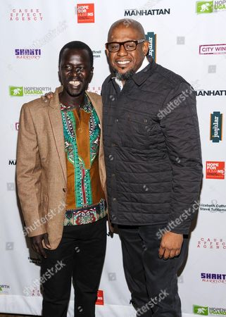 Okello Kelo Sam and Forest Whitaker