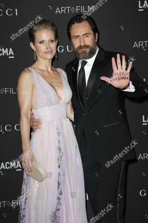 Stefanie Sherk and Demian Bichir