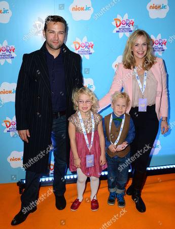 Stefan Booth, Debbie Flett and children