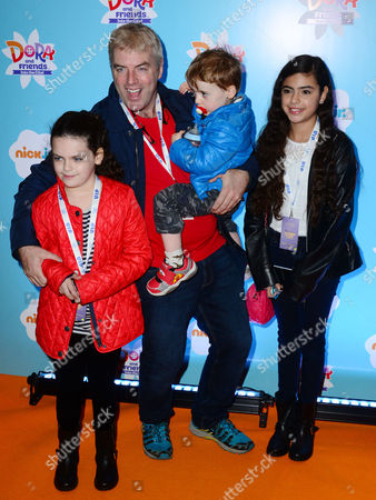 Donal MacIntyre and family