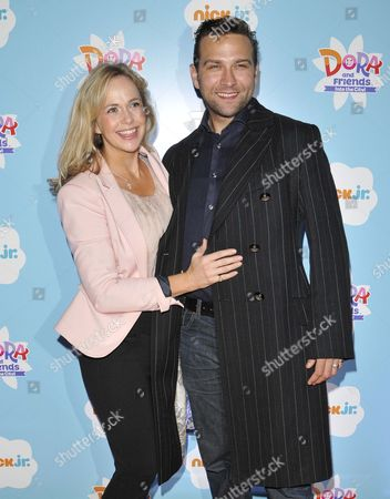 Stock Photo of Debbie Flett and Stefan Booth