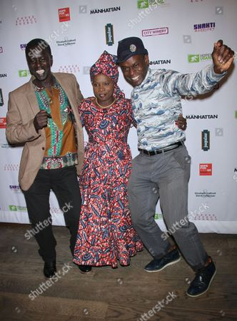 Stock Picture of Okello Kelo Sam, Angelique Kidjo, Sahr Ngaujah