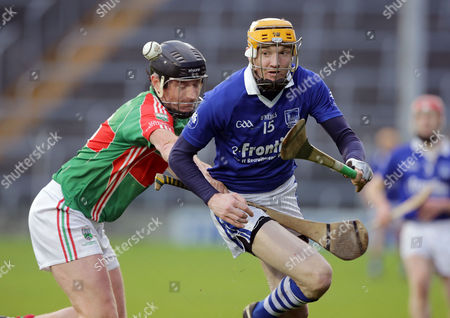 Loughmore-Castleiney's David Kennedy with Lar Corbett of Thurles Sarsfields