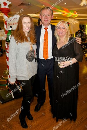 Catherine Tate ; Martin Clunes and Debbie Isitt