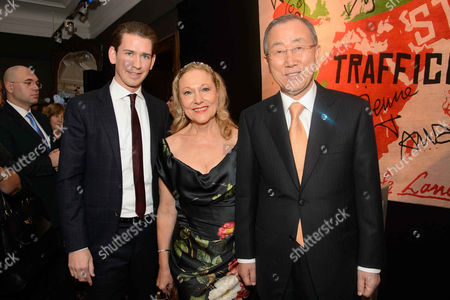 Editorial photo of Blue Heart Charity event in Vienna, Austria - 02 Nov 2014