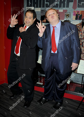 Stock Picture of Louie Anderson & Harry Basil