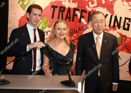 Editorial image of Blue Heart Charity event in Vienna, Austria - 02 Nov 2014