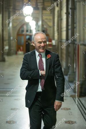SIR Richard Leese, at Manchester Town Hall after signing a deal to devolve power to Greater Manchester, including giving the city a Mayor and greater control over its finances.