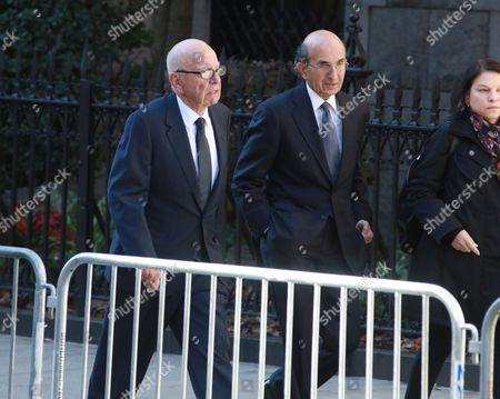 Rupert Murdoch and Joel Klein