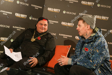 Charlie Sloth and Professor Green