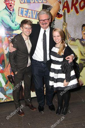 Stock Photo of Andrew Keenan-Bolger, John Ellison Conlee, Maggie Keenan-Bolger