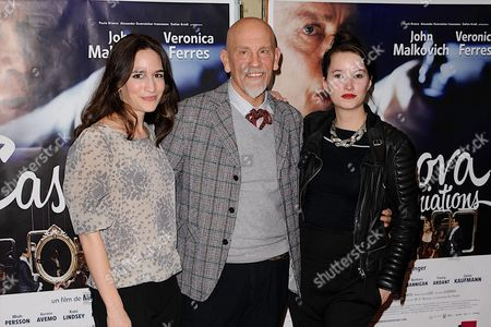 Kate Lindsey, John Malkovich and Anna Prohaska