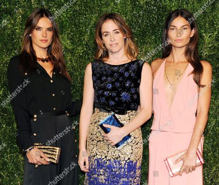 Stock Photo of Alessandra Ambrosio, Brett Heyman, Lily Aldridge