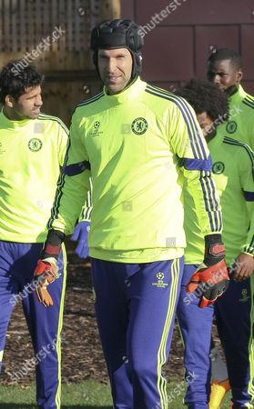 Petr Cech leads Diego Costa, Ramires, Zouma and Eden Hazard