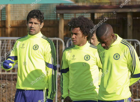 Costa, Willian and Ramires