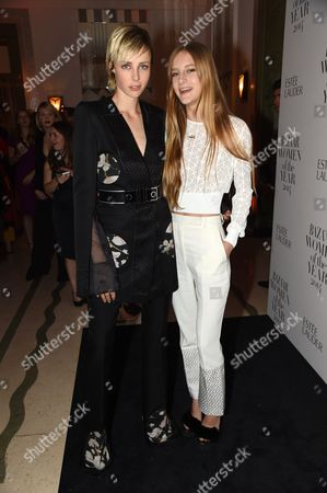 Edie Campbell and Olivia Campbell