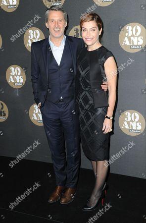 Antoine de Caunes and Daphne Roulier