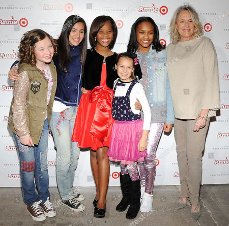 Editorial image of 'Annie' for Target Collection Launch, New York, America - 04 Nov 2014