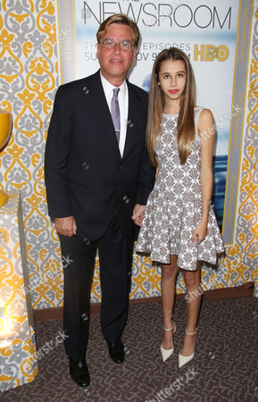 Aaron Sorkin and daughter Roxy Sorkin