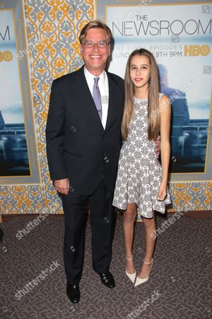 Aaron Sorkin and his daughter Roxy Sorkin