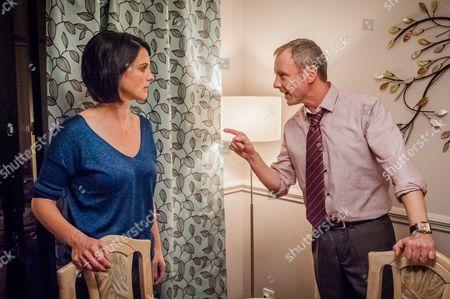 Heather Peace as Abi Farrow and John Simm as Detective Sergeant Marcus Farrow.
