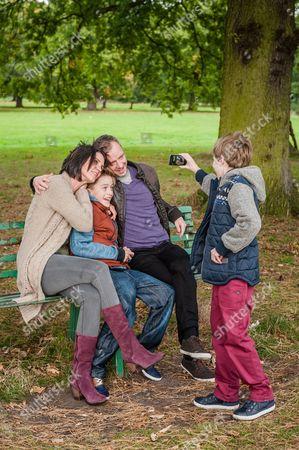Ezra Dent-Watson as Finn Farrow, Charlie Concannon as Max Farrow, John Simm as Detective Sergeant Marcus Farrow, Heather Peace as Abi Farrow