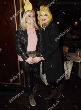Stock Picture of Pam Hogg and Hanna Hanra