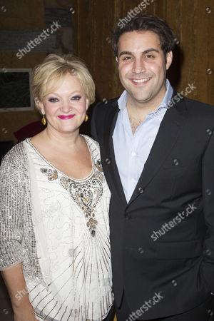 Maria Friedman and Adrian der Gregorian (Eddie O'Grady)