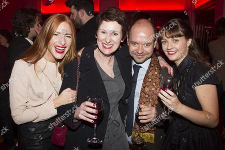 Stock Image of Rosalie Craig, Josie Walker, Peter Howe and Ania Klimowicz