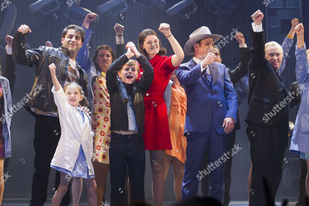 Adrian der Gregorian (Eddie O'Grady), Annie Guy (Sharon O'Grady), Tommy Rodger (Graham O'Grady), Gemma Arterton (Rita O'Grady), Steve Furst (Mr Tooley) and Mark Hadfield (Harold Wilson)