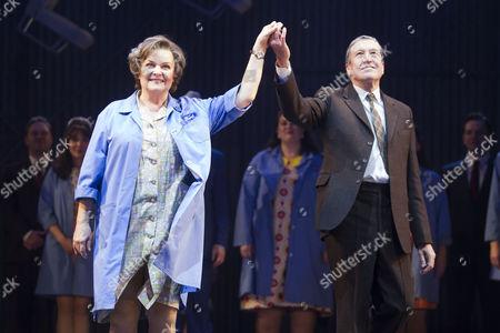Isla Blair (Connie) and David Cardy (Monty)