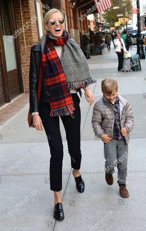 Editorial photo of Karolina Kurkova out and about, New York, America - 05 Nov 2014