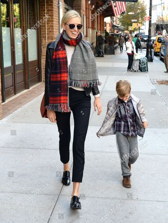 Editorial picture of Karolina Kurkova out and about, New York, America - 05 Nov 2014